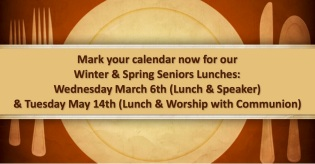 seniors lunch and worship